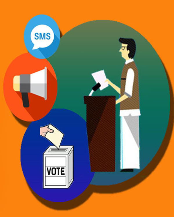 ELECTION-CAMPAIGNS-SMS